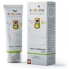 Düfte, Parfümerie und Kosmetik Kinderzahnpasta 6+ Jahre mit Apfelgeschmack - Dentissimo Junior Toothpaste Apple