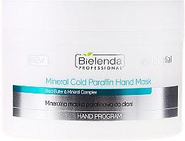 Mineralmaske für die Hände mit kaltem Paraffin - Bielenda Professional Mineral Cold Paraffin Hand Mask — Bild N1