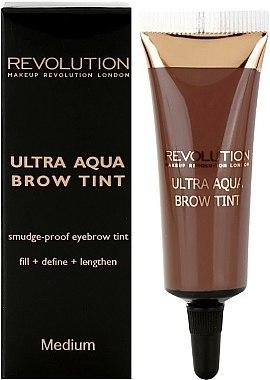 Augenbrauenfarbe - Makeup Revolution Ultra Aqua Brow Tint — Bild N1
