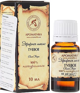 Ätherisches Bio Thujaöl - Aromatika — Bild N3