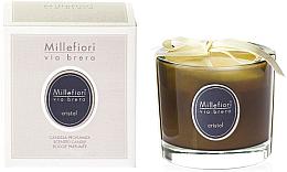 Düfte, Parfümerie und Kosmetik Duftkerze im Glas Cristal - Millefiori Milano Via Brera Candle Cristal