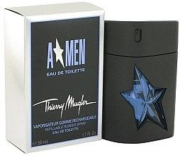 Düfte, Parfümerie und Kosmetik Mugler A Men Rubber Refillable - Eau de Toilette