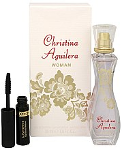 Düfte, Parfümerie und Kosmetik Christina Aguilera Woman - Duftset (Eau de Parfum 30ml + Wimperntusche 5.3ml)