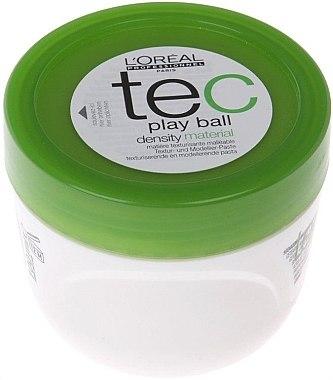 Textur und Modellierhaarpaste für kurzes und mittellanges Haar - L'Oreal Professionnel Play Ball Density Material — Bild N1