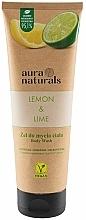 Düfte, Parfümerie und Kosmetik Erfrischendes Duschgel mit Zitrone und Limette - Aura Naturals Lemon & Lime Body Wash