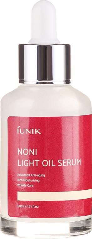 Mildes Ölserum für das Gesicht - iUNIK Noni Light Oil Serum — Bild N2