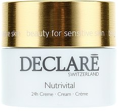 Pflegende und beruhigende Gesichtscreme mit Bisabolol und Aprikosenkernsamenöl - Declare Nutrivital 24 h Cream — Bild N2