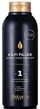 Düfte, Parfümerie und Kosmetik Glättendes Shampoo mit Ceramiden und Keratin - Salerm Kaps Filler Smoothing Therapy Shampoo