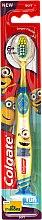 Düfte, Parfümerie und Kosmetik Kinderzahnbürste 6+ Jahre weich Minions gelb - Colgate Kids Soft Toothbrush
