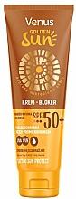 Düfte, Parfümerie und Kosmetik Sonnenschutzcreme für den Körper SPF 50 - Venus Golden Sun Blocker Cream SPF 50