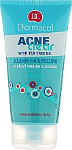 Düfte, Parfümerie und Kosmetik Gesichtspeeling mit Jojoba und Teebaumöl gegen Akne - Dermacol Acne Clear Jojoba Face Peeling