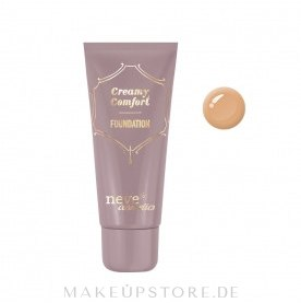 Foundation - Neve Cosmetics Creamy Comfort — Bild Dark warm