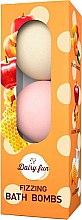 Düfte, Parfümerie und Kosmetik Badebomben - Delia Dairy Fun Fizzing Bath Bombs