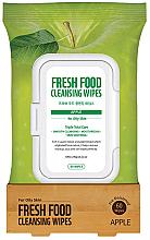 Düfte, Parfümerie und Kosmetik Feuchttücher zum Abschminken mit Apfelduft - Superfood For Skin Facial Cleansing Wipes Apple