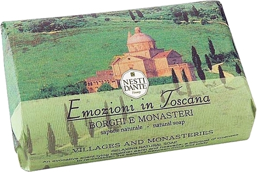Naturseife Villages & Monasteries - Nesti Dante Natural Soap Emozioni in Toscana Collection — Bild N1