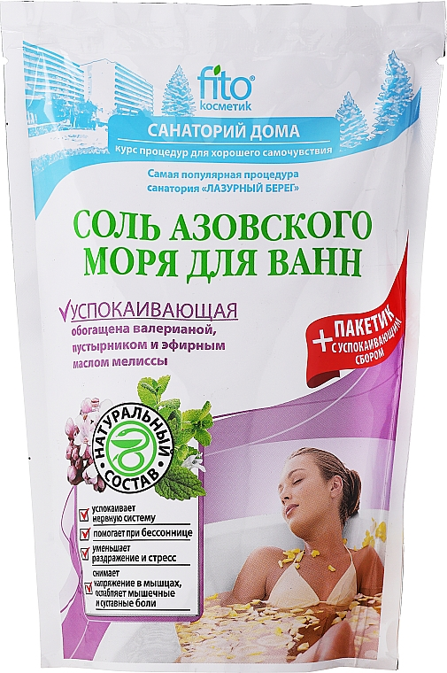 Badesalze aus dem Asowschen Meer - Fito Kosmetik