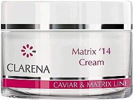 Düfte, Parfümerie und Kosmetik Anti-Falten Gesichtscreme zur täglichen Pflege reifer Haut - Clarena Matrix 14 Cream
