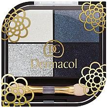 Düfte, Parfümerie und Kosmetik Lidschatten - Dermacol Quattro
