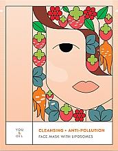 Düfte, Parfümerie und Kosmetik Gesichtsmaske mit Liposomen - You & Oil Cleansing & Anti-Pollution Face Mask With Liposomes