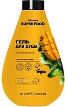 Düfte, Parfümerie und Kosmetik Tief nährendes Duschgel mit Mango und Basilikum - Cafe Mimi Super Food Shower Gel