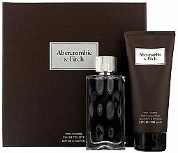 Düfte, Parfümerie und Kosmetik Duftset - Abercrombie & Fitch First Instinct (Eau de Toilette 100ml+Duschgel 200ml)