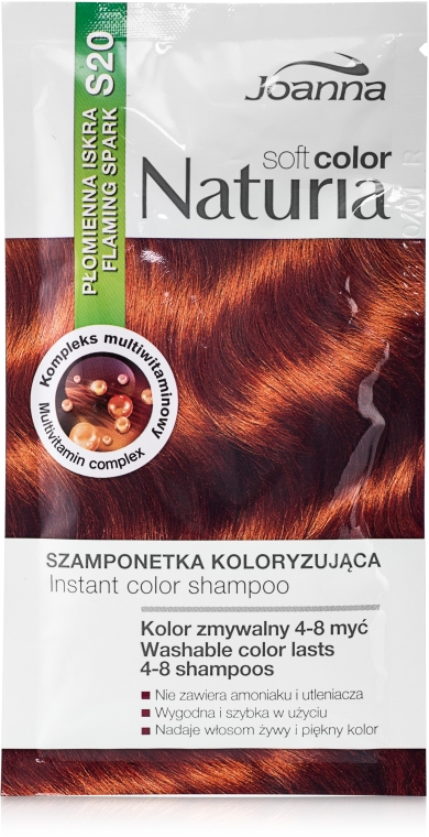 Tönungsshampoo - Joanna Naturia Soft Color Shampoo — Bild N1