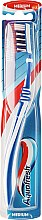 Düfte, Parfümerie und Kosmetik Zahnbürste mittel Clean Deep dunkelblau-weiß - Aquafresh Clean Deep Medium