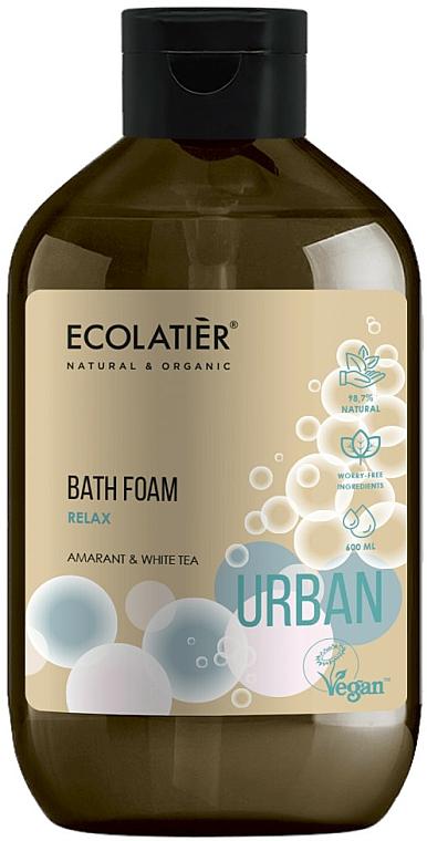Entspannender Badeschaum mit Amarant und weißem Tee - Ecolatier Urban Bath Foam — Bild N1