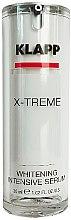 Düfte, Parfümerie und Kosmetik Intensiv aufhellendes Gesichtsserum - Klapp X-treme Whitening Intensive Serum