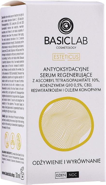 Antioxidatives Gesichtsserum mit Coenzym Q10 - BasicLab Esteticus Face Serum — Bild N3