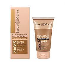 Düfte, Parfümerie und Kosmetik Verjüngende Gesichtsmaske mit Bronzeton und Schwefelwasser - Frais Monde Organic Spa Anti Age Instant Beauty Face Mask