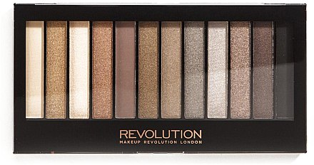 Lidschattenpalette mit 12 Farben - Makeup Revolution Redemption Palette Iconic 2 — Bild N1
