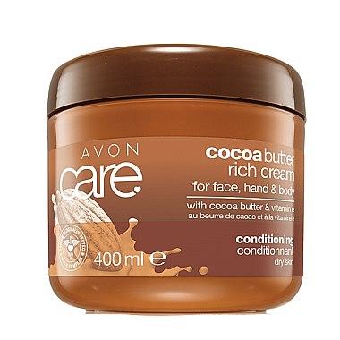Körpercreme für trockene Haut mit Kakaobutter und Vitamin E - Avon — Bild N1