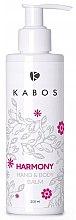 "Düfte, Parfümerie und Kosmetik Parfümierte Hand- und Körperlotion ""Harmony"" - Kabos Hand & Body Balm Harmony"