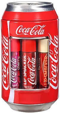 "Lippenbalsam-Set ""Coca-Cola"" - Lip Smacker Coca-Cola Mix Tin Box (Lippenbalsam/6x4g) — Bild N2"