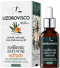 Düfte, Parfümerie und Kosmetik Feuchtigkeitsspendendes Gesichtsserum mit Hyaluronsäure - Uzdrovisco
