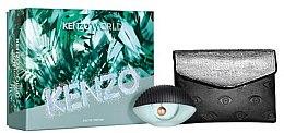 Düfte, Parfümerie und Kosmetik Kenzo World Kenzo - Duftset (Eau de Parfum/50ml + Beauty-Tasche)