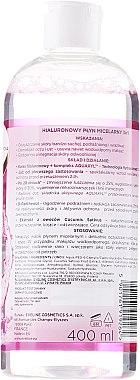 Mizellen-Reinigungswasser mit Hyaluronsäure - Eveline Cosmetics Facemed+ — Bild N2