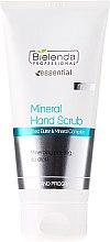 Düfte, Parfümerie und Kosmetik Handpeeling für trockene und empfindliche Haut - Bielenda Professional Mineral Hand Scrub