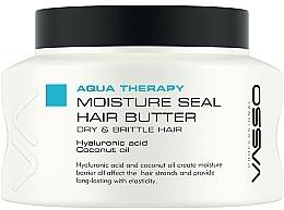 Düfte, Parfümerie und Kosmetik Feuchtigkeitsspendende Haarbutter mit Hyaluronsäure und Kokosnussöl - Vasso Professional Moisture Seal Hair Butter