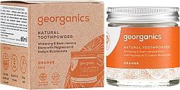 Düfte, Parfümerie und Kosmetik Aufhellendes natürliches Zahnpulver mit Orangengeschmack - Georganics Red Mandarin Natural Toothpowder