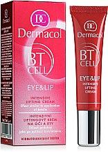 Düfte, Parfümerie und Kosmetik Intensive Lifting-Creme für Augenpartie und Lippen - Dermacol BT Cell Eye&Lip Intensive Lifting Cream