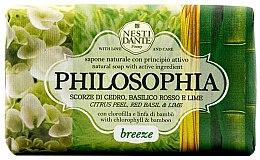 Düfte, Parfümerie und Kosmetik Naturseife Breeze - Nesti Dante Refreshing & Relaxing Soap Philosophia Collection