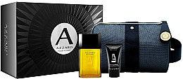 Düfte, Parfümerie und Kosmetik Azzaro Pour Homme - Duftset (Eau de Toilette 50ml + Duschgel 50ml + Kosmetiktasche)
