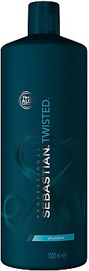 Glättendes Shampoo für lockiges Haar - Sebastian Professional Twisted Elastic Cleanser Shampoo — Bild N1