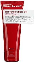 Düfte, Parfümerie und Kosmetik Selbstbräunungsgel für Männer - Recipe For Men Self Tanning Face Gel