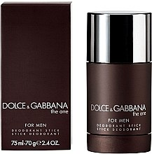 Düfte, Parfümerie und Kosmetik Dolce & Gabbana The One for Men - Deostick