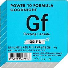 Düfte, Parfümerie und Kosmetik Feuchtigkeitsspendende Schlafmaske für das Gesicht in einer Power-Kapsel - It's Skin Power 10 Formula Goodnight Gf Sleeping Capsule