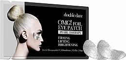 Düfte, Parfümerie und Kosmetik Aufhellende Augenpatches mit Lifting-Effekt - Double Dare Omg! Foil Eye Patch Pearl Therapy