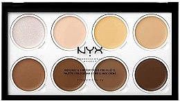 Düfte, Parfümerie und Kosmetik Cremige Highlighter in Palette - NYX Professional Makeup Highlight & Contour Cream Pro Palette